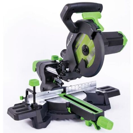 EVOLUTION Power Tools Scie a onglet radiale multi-matériaux F210SMS