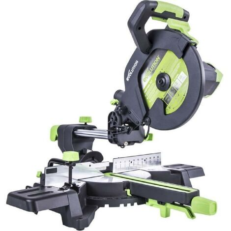 EVOLUTION Power Tools Scie a onglet radiale multi-matériaux F255SMS