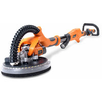 Evolution R225DWS Telescopic Dry Wall Sander 225mm with LED Torch 240V