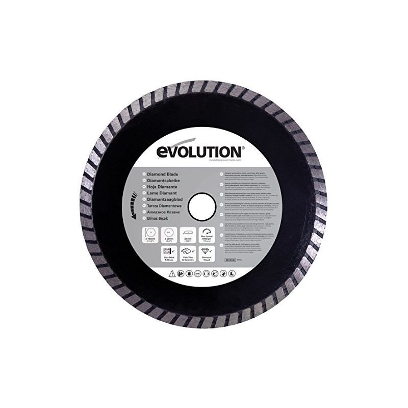 Image of Evolution Diamond Blade, 185 Mm - HTC EVOLUTION