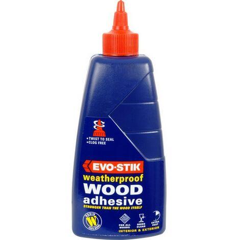 EVOWW125 - Evo-Stik Waterproof Resin Wood Glue 125ml Blue Bottle