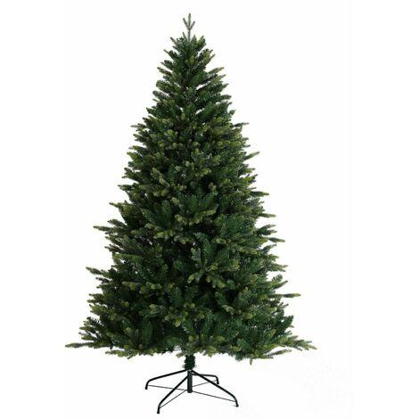Evre Christmas Green Tree 7ft PE+PVC Metal Stand & Auto Struction