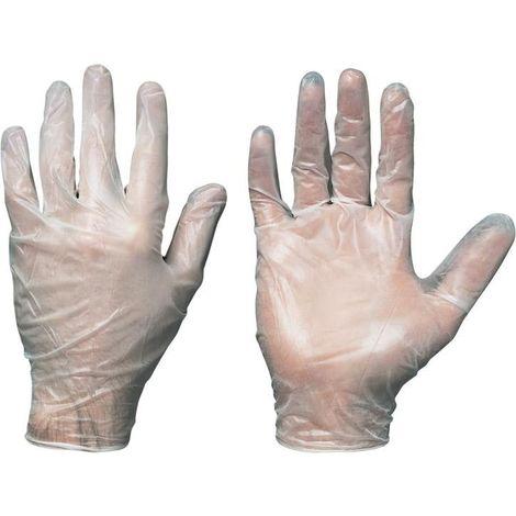 EW Glove Sanya, vinilo, ungep., gr. 8como Box a100St.)