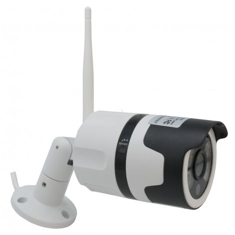 EW14 External Wi-Fi (IP) CCTV Camera with 2-way Audio, 1080P, Recording, 20 metre Night Vision, Light & Siren