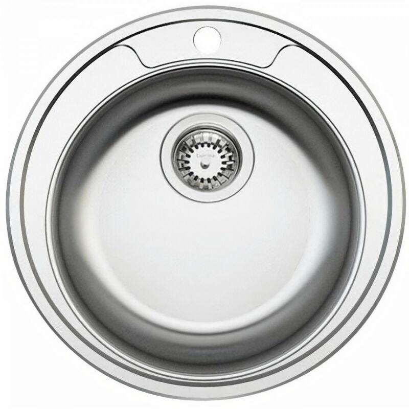 Cuve Ronde Diametre 48Cm Inox Lisse Vidage Manuel - Ewi