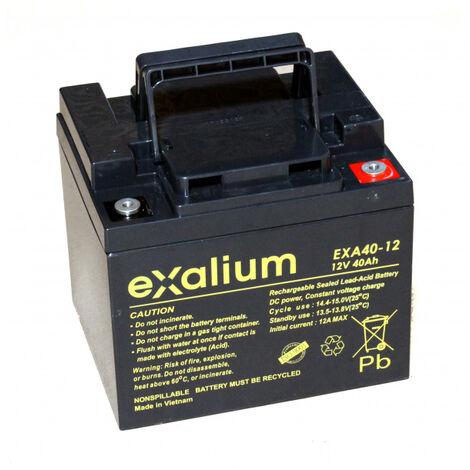 Exalium 12V 40Ah EXA40-12FR batería de plomo