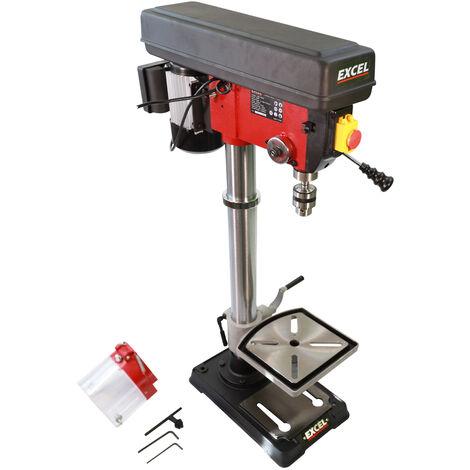 Excel 16mm Pillar Drill Bench Press 12-Speed 600W/230V