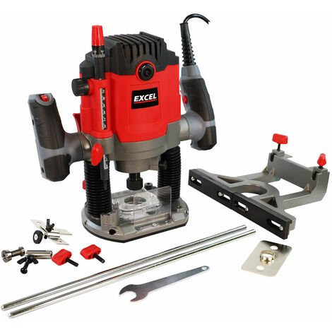 """main image of """"Excel 1800W 1/2"""" Electric Plunge Router Heavy Duty with Variable Speed"""""""