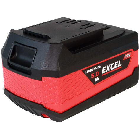Excel 18V 5.0Ah Battery Li-Ion EXL550:18V