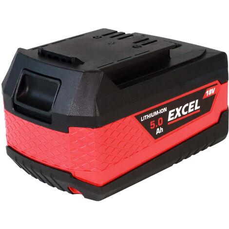Excel 18V 5.0Ah Battery Li-Ion EXL550:18V