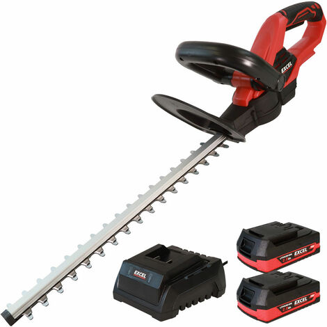 """main image of """"Excel 18V Cordless Hedge Trimmer with 2 x 2.0Ah Batteries + Fast Charger EXL5233:18V"""""""