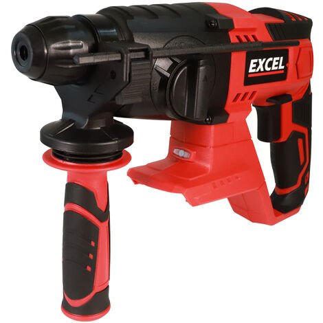 Excel 18V Cordless SDS-Plus Rotary Hammer Drill Body Only EXL554B:18V