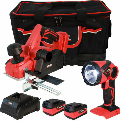 Excel 18V Cordless Twin Pack with 2 x 5.0Ah Batteries & Charger in Bag EXL5132:18V