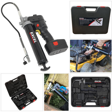 Excel Cordless Grease Gun 18V EX18GG with 2.0Ah Battery