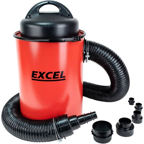 Excel Dust Extractor 50L Vacuum Cleaner & Adaptor Set 240V