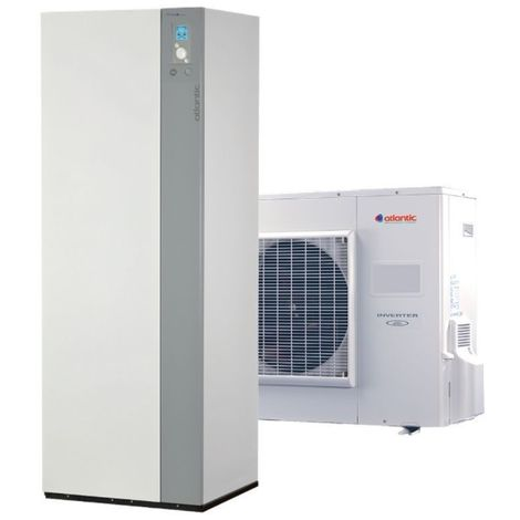 Excellia duo 11 TRI 400V ATLANTIC 11 Kw pompe a chaleur inverter air eau A++