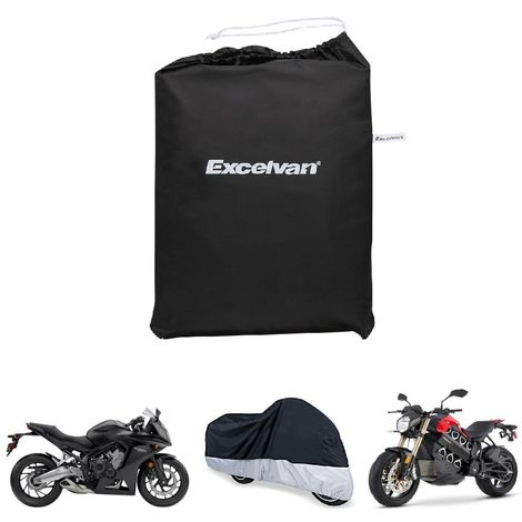 3f803ca1e93 Excelvan - Funda de protección para moto, protector impermeable de  poliéster 190T para moto,