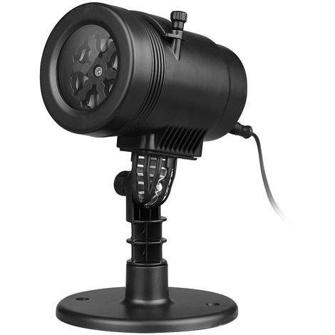 Excelvan De Led Paysage Imperméable Diapositives Lampe Jardin 14 Commutables Rotation Lumière Automatique Fête Projection Lumières Avec 76gvbyYf