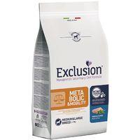 Exclusion Diet Metabolic & Mobility per Cane Medium Large Breed con Maiale e Fibre da 12,5 kg