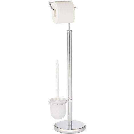 Exclusive free-standing WC brush set Chrome WENKO