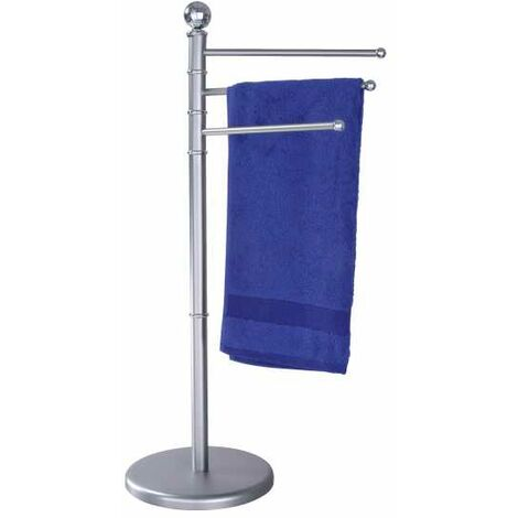Exclusive towel stand Brushed Chrome WENKO