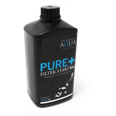 Exclusivo Koi Pure+ Filter Starter Gel 1000ml para 10000 l de agua de estanque