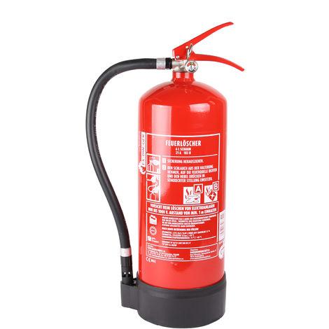 EXDINGER 6l Feuerlöscher Schaum AB 6 LE mit Halterung Dauerdrucklöscher