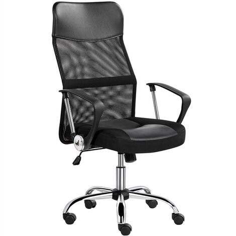 """main image of """"Executive High Back Mesh Office Chair Ergonomic Computer Desk Chair Height Adjustable and Swivel Chair with Armrest and Lumbar Support"""""""