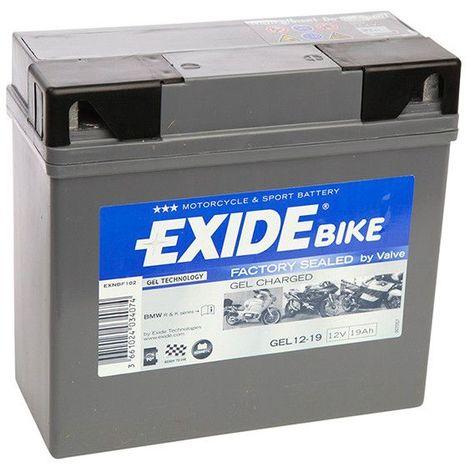 Exide Sprinter p12v600 12 V 24ah plomb-AGM Batterie avec VDS