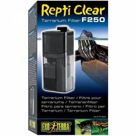 EXO TERRA Filtre Compact Clear 250 - Pour reptiles