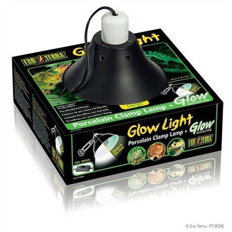 Exo Terra Glow Light Portalámparas 25 cm Ø para Terrarios