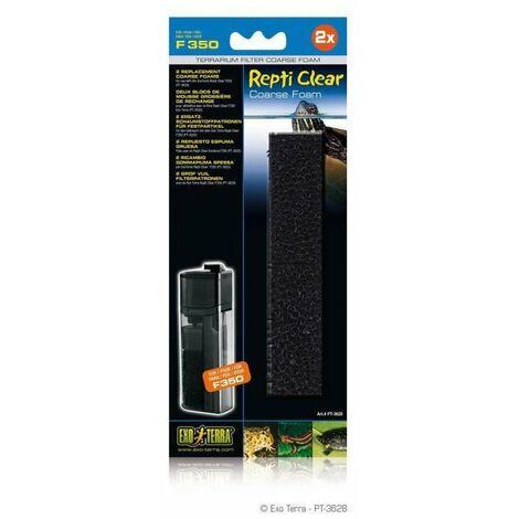 EXO-TERRA Mousse épaisse filtre de rechange - Pour Repti Clear F 350