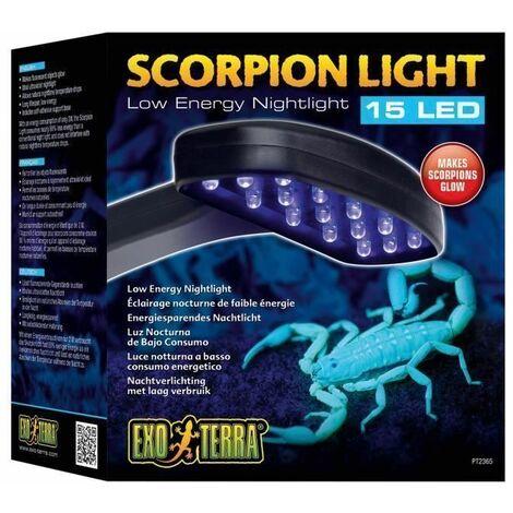 Exo terra PT2365 - ANIMALERIE - ECLAIRAGE - Exoterra Éclairage Nocturne de Faible Énergie pour Reptile/Amphibien
