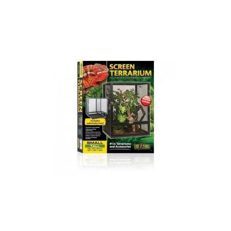 Exo Terra - Terrarium en Verre pour Reptile - 45x45x45cm