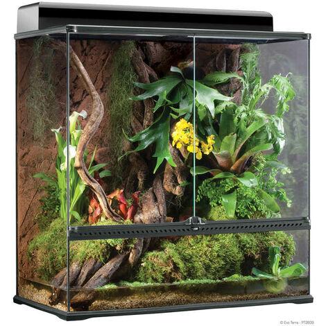 Exo Terra - Terrarium en Verre pour Reptile - 90x45x90cm