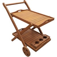 Exotic Wood Trolley Shackle - Maple - Light Brown - Service Trolley