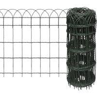 Expandable Garden Lawn Edging Border Fence 10 x 0,65 m