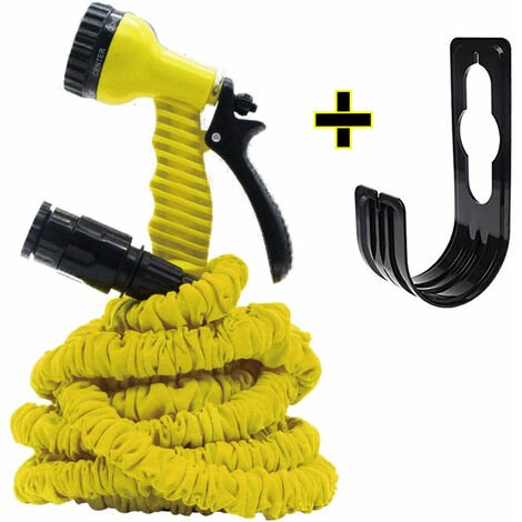 """main image of """"Expandable hose with spray gun and hose holder"""""""