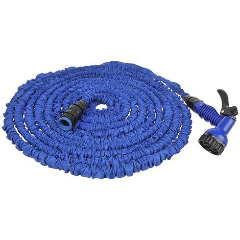 Expandable water hose 22.5M with 7 function spray gun
