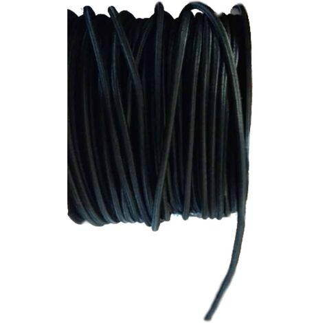 Expanderseil 6 mm schwarz PP Ummantelung