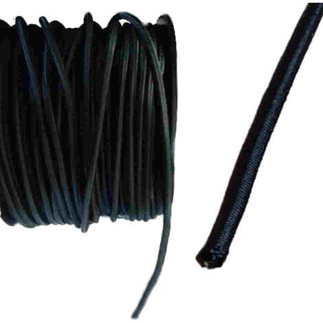 Expanderseil 8 mm schwarz PP Ummantelung