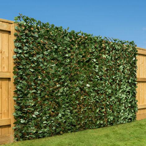 Expanding Artificial Ivy Leaf Hedge (1m x 2m)