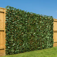 Expanding Artificial Ivy Leaf Hedge (1m x 2m)