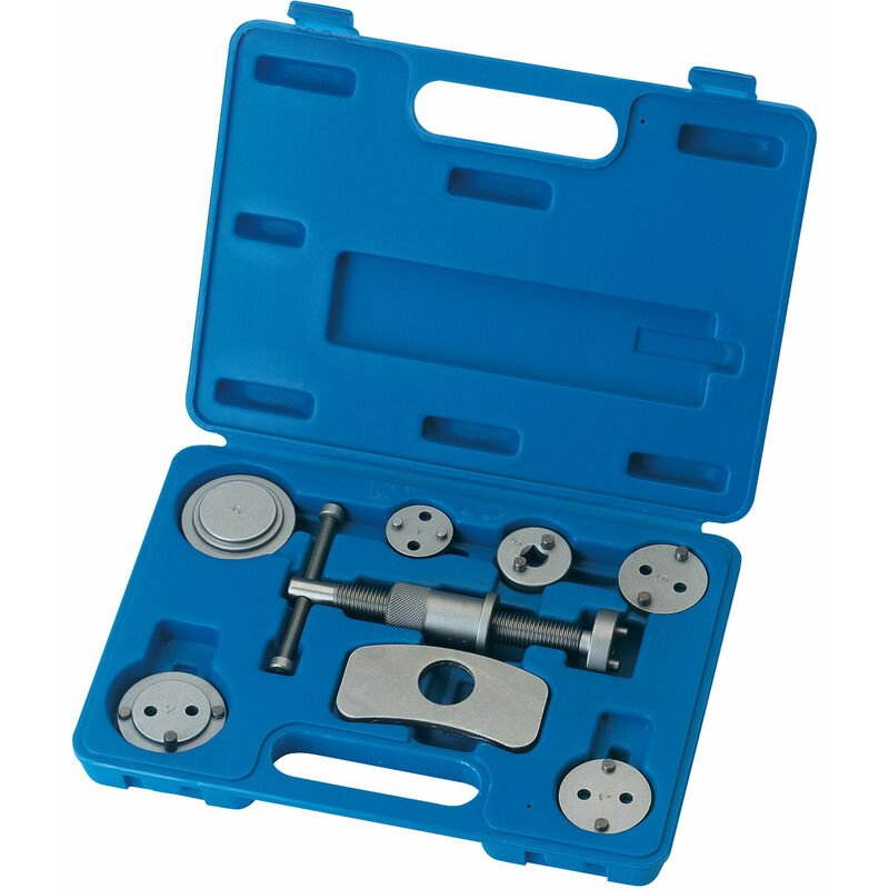 Image of 33606 8 Piece Brake Piston Wind Back Tool Kit - Draper Expert