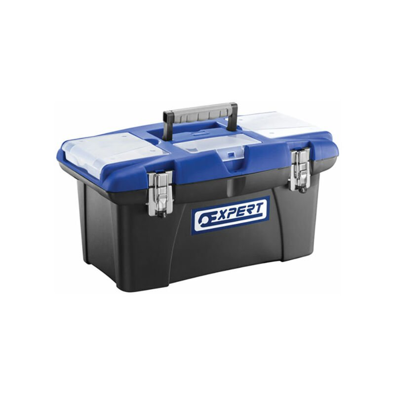 Image of Expert E010305 Plastic Toolbox 50cm (19in)