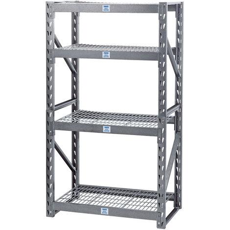 Expert Heavy Duty Steel 4 Shelving Unit - 1040 x 610 x 1830mm
