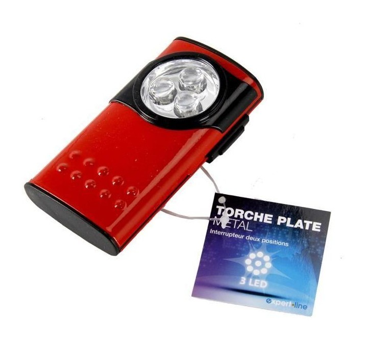 Métal Torche Rouge Expert Extra Line Led Plate 3 thQdxBsCr