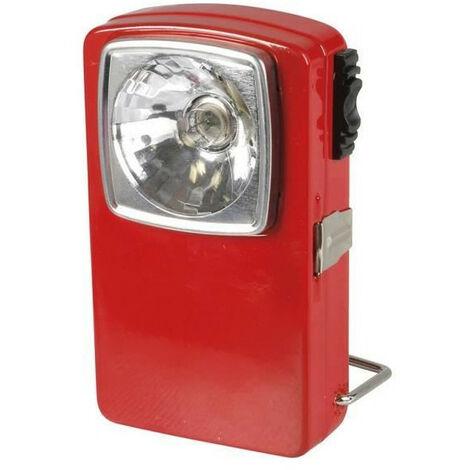 "main image of ""EXPERT LINE Torche plate 3 LED métal rouge"""