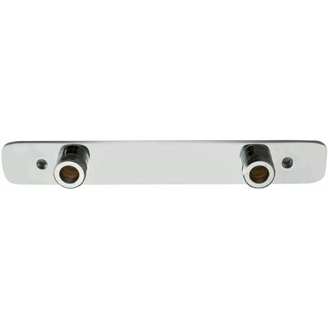 Exposed Easyfit Wall Plate Fixing Shower Bar Valves Brass Bathroom Chrome