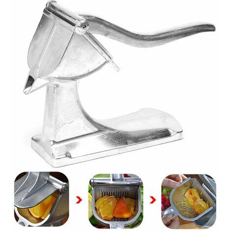 Exprimidor de jugo de limón de aluminio para trabajo pesado, cítricos, naranja, herramienta de cocina